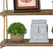 Wooden Hanging Shelf | M&W 2 Tier - Image 4