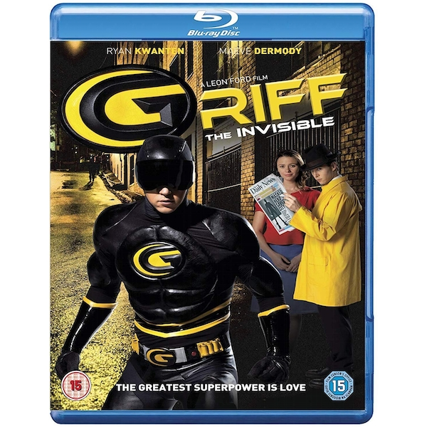 Griff - The Invisible Blu-Ray