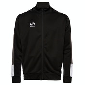 Sondico Venata Walkout Jacket Youth 11-12 (LB) Black/Charcoal/White