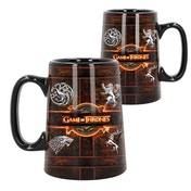 Ceramic Rustic Sigil (Game Of Thrones) Tankard