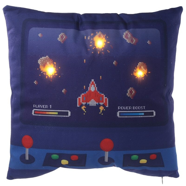 Game Over Design LED Cushion