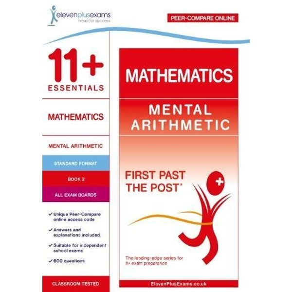11+ Essentials Mathematics: Mental Arithmetic Book 2  Paperback / softback 2018
