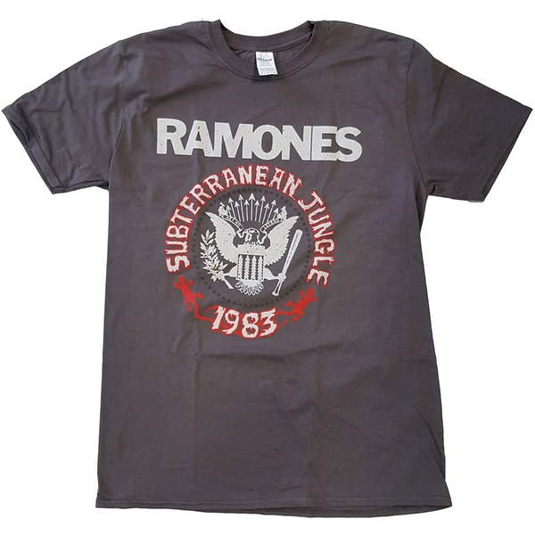 Ramones - Subterraneun Jungle Unisex X-Large T-Shirt - Grey