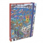 Wheres Wally Space Scene A6 Journal
