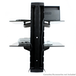 Tempered Black Glass Floating Shelf | M&W 2 Tier - Image 5