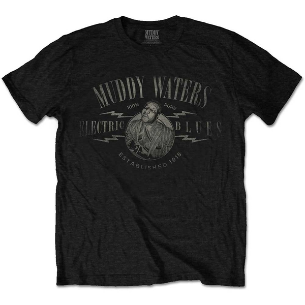 Muddy Waters - Electric Blues Vintage Men's Large T-Shirt - Black