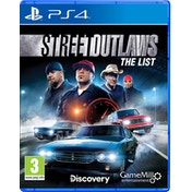 Street Outlaws The List PS4 Game