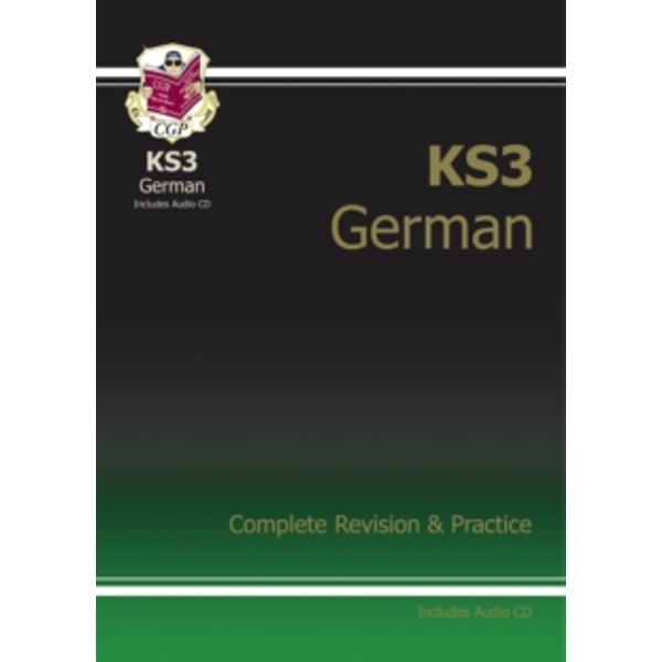 KS3 German Complete Revision & Practice by CGP Books (Paperback, 2013)