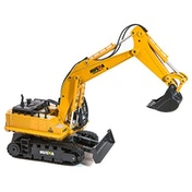 HUINA 1/16 11 Channel 2.4G RC Excavator with Diecast Bucket