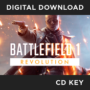 Battlefield 1 Revolution Game PC CD Key Download for Origin