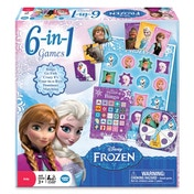 Disney Frozen 6-in-1 Classic Games Board Game