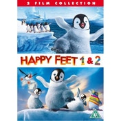 Happy Feet 1 & 2 DVD