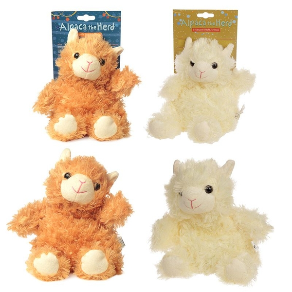 Alpaca Design Snuggables Microwavable Warmer (1 Random Supplied)