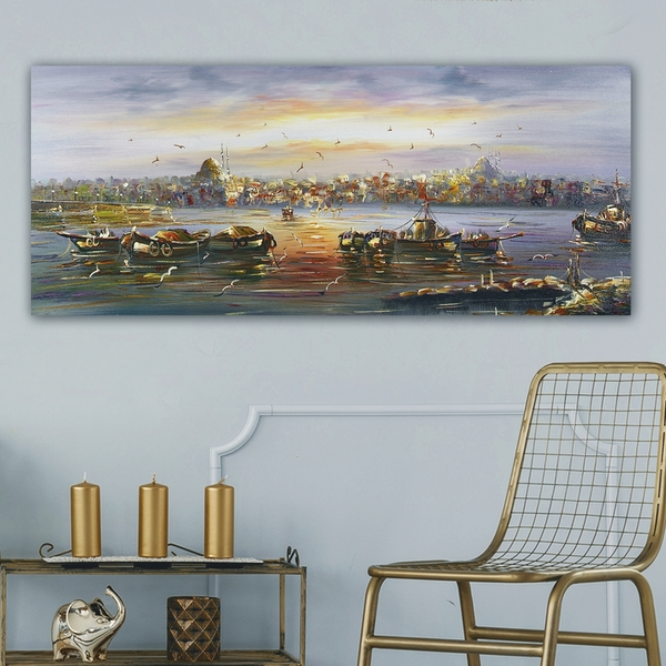 YTY7621_50120 Multicolor Decorative Canvas Painting