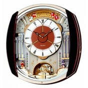 Seiko QXM250B Melody in Motion Wall Clock 12 Melodies