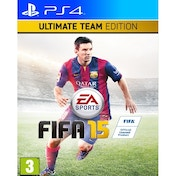 Ex-Display FIFA 15 Ultimate Team Edition PS4 Game