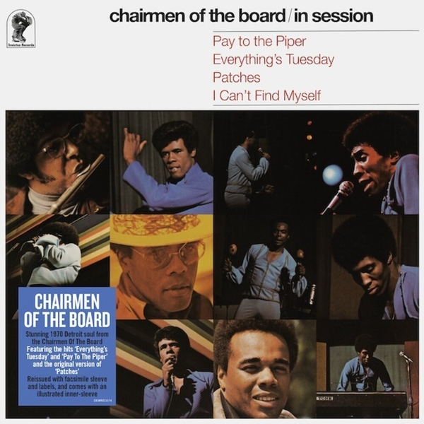 Chairmen Of The Board - In Session Vinyl