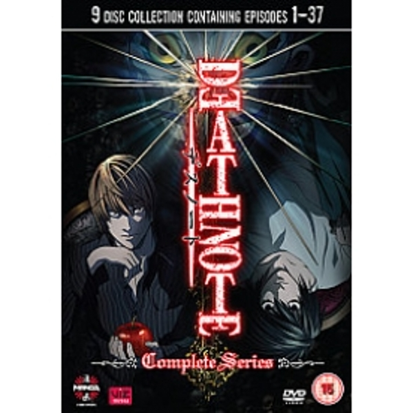 Death Note The Complete Series DVD - shop4world.com