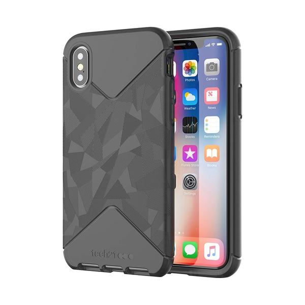 Tech21 Evo Tactical Protective Lightweight Case for iPhone X/Xs - Black