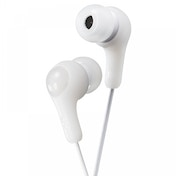 JVC HAFX7W Gumy Plus In Ear Headphones White