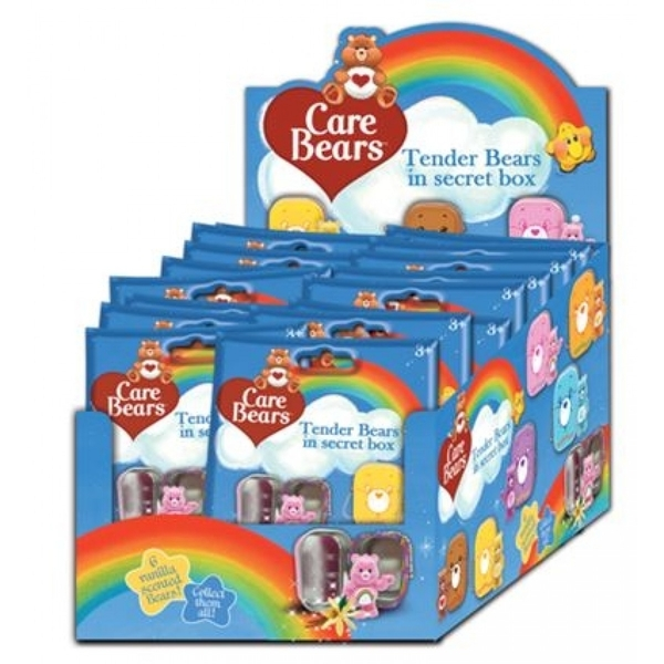Care Bears Mini Tins & Scented Figurines Blind Bags (16 Packs)