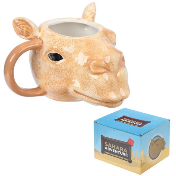Ceramic Camel Head Mug