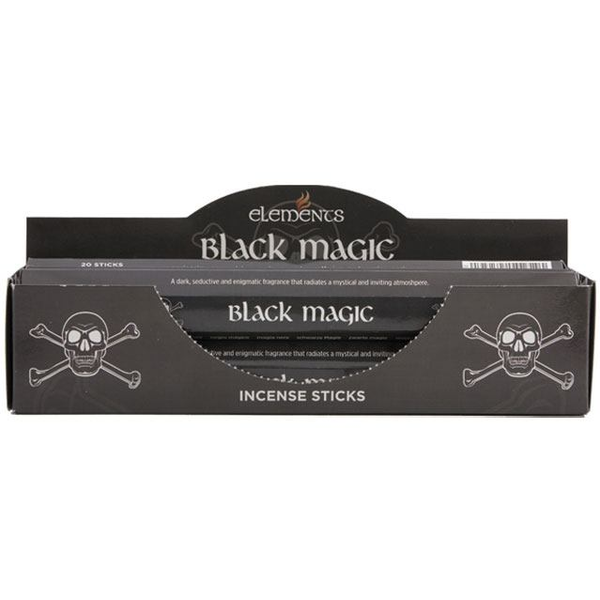 6 Packs of Elements Black Magic Incense Sticks