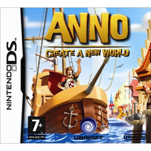 Anno Create A New World Game DS