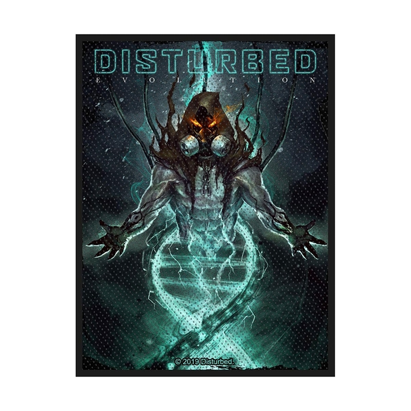 Disturbed - Evolution Hooded Standard Patch