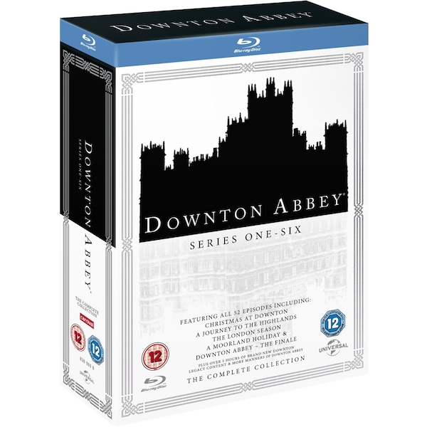 Downton Abbey: The Complete Collection Blu-ray