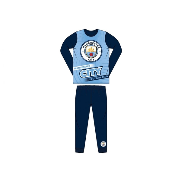 Man City Sublimation Banner Pyjamas 5-6 Yrs