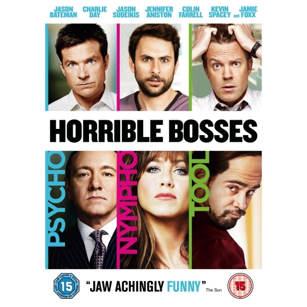 Horrible Bosses 2011 DVD