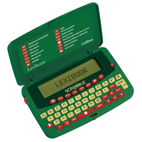 Lexibook SCF-328AEN Deluxe Electronic Scrabble Dictionary [Used - Good]