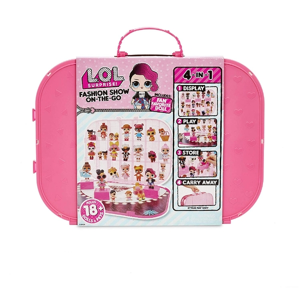 L.O.L. Surprise Fashion Show Carrying Case - Pink Edition