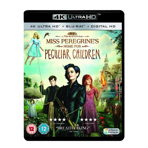 Miss Peregrine's Home For Peculiar Children 4KUHD   Blu-ray