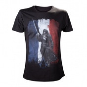 Assassins Creed Unity Tricolore T-Shirt Small Black