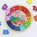 Peppa Pig Wooden Jigsaw Puzzle Clock - Image 3