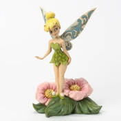 Disney Traditions Tinkerbell Standing on Flower