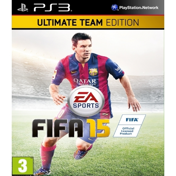 Ex-Display FIFA 15 Ultimate Team Edition PS3 Game