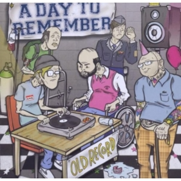 A Day To Remember - Old Record CD