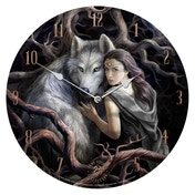 Soul Bond Wolves Clock