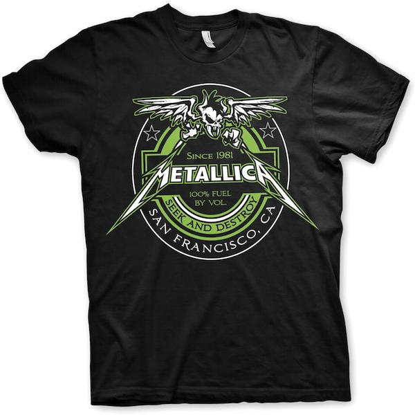 Metallica - Fuel Unisex Large T-Shirt - Black