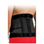Precision Neoprene Back Brace with Stays Small/Medium