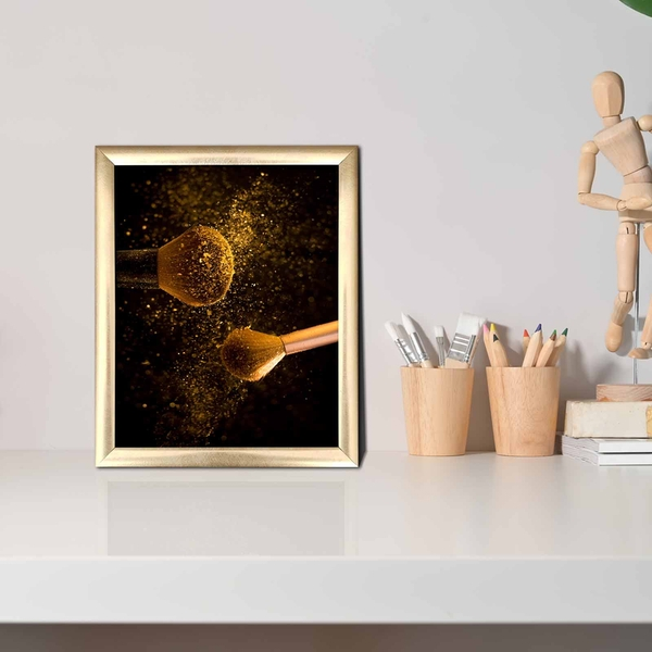ACT-006 Multicolor Decorative Framed MDF Painting