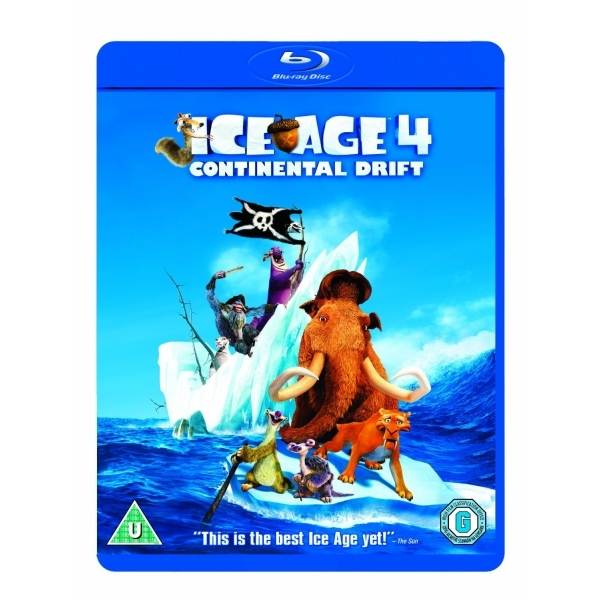 Ice Age 4 Continental Drift Blu-ray