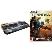Titanfall PC Game & Titanfall S.T.R.I.K.E. 3 Gaming Keyboard UK Layout