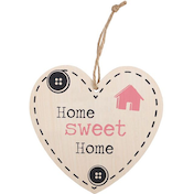 Home Sweet Home Hanging Heart Sign