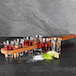 Wooden Drinks Paddle with 6 Shot Glasses | M&W - Image 2
