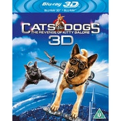 Cats & Dogs 2 - Revenge of Kitty Galore (2010) Blu-ray 3D