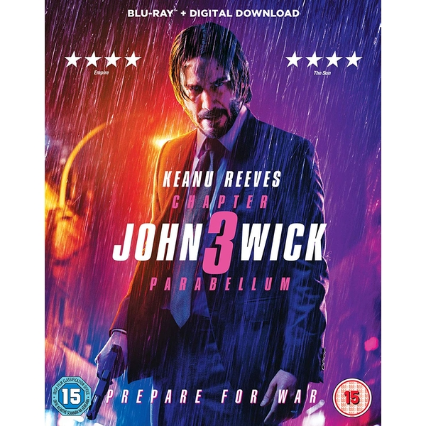 John Wick: Chapter 3 - Parabellum Blu-ray + Digital Download